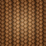 Tiling wicker texture Stock Photos