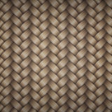 Tiling wicker texture Stock Photography