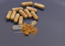 tillägg vitaminer Arkivfoto