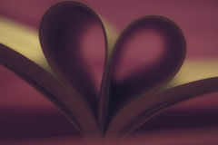 Till böcker med förälskelse Arkivfoton