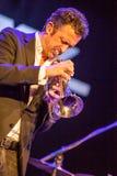 Till Broner at Kaunas Jazz 2015 Royalty Free Stock Photos