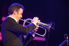 Till Broner no jazz 2015 de Kaunas Imagem de Stock Royalty Free