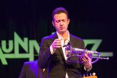 Till Broner no jazz 2015 de Kaunas Foto de Stock