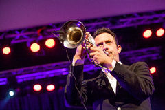 Till Broner no jazz 2015 de Kaunas Fotos de Stock