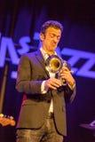 Till Broner no jazz 2015 de Kaunas Foto de Stock Royalty Free