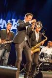 Till Bronner quintet at Kaunas Jazz 2015 Royalty Free Stock Images