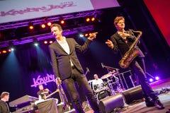 Till Bronner quintet at Kaunas Jazz 2015 Royalty Free Stock Image