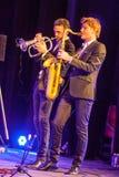 Till Bronner quintet at Kaunas Jazz 2015 Royalty Free Stock Photos