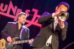 Till Bronner quintet at Kaunas Jazz 2015 Stock Images