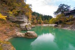Till ingen Hetsuri Fukushima Japan Royaltyfri Fotografi