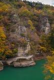 Till ingen Hetsuri Fukushima Japan Fotografering för Bildbyråer