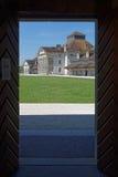 Till och med dörren i salthaltiga Royale Arkivbilder
