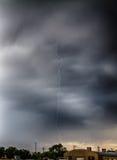 Till och med stormen Arkivfoto