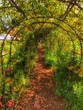 Till och med trädgården Royaltyfri Foto