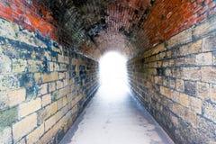Till och med tunnelen Arkivfoto