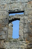 Till och med Windows Royaltyfri Foto
