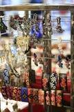 Till salu österlänning & indiska handgjorda hårgem Arkivfoton