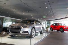 Till salu Audi bil Royaltyfri Bild