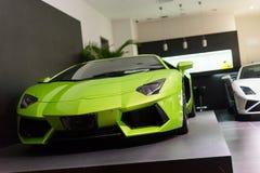 Till salu bilar Arkivfoto