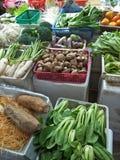 Till salu grönsaker Arkivbild