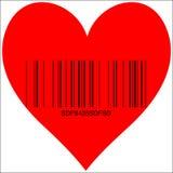 Till salu hjärta Arkivfoton