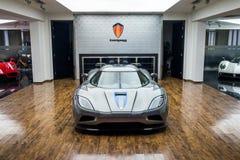 Till salu Koenigsegg bil arkivfoto