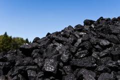 Till salu kol arkivbilder