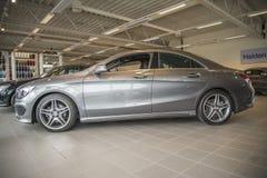 Till salu Mercedes-benz cla 200 Arkivfoto
