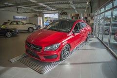 Till salu Mercedes-benz cla-grupp Royaltyfria Bilder