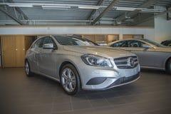 Till salu Mercedes-benz en-grupp Arkivbilder