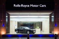 Till salu Rolls Royce bil Arkivfoto