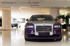 Till salu Rolls Royce bilar Arkivfoton