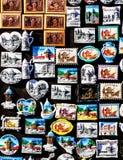 Till salu Sarajevo souvenir Royaltyfria Bilder