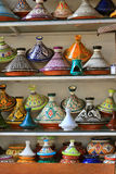 Till salu Tajines Royaltyfria Foton
