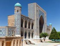 Tilla-Kari medressa - Registan - Samarkand - Uzbekistan Royalty Free Stock Images