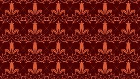 tillable викторианские обои Стоковое Изображение