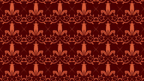 Tillable Victorian Wallpaper. With customizable foreground and background vector file Stock Image