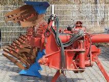 Tillage machine - plow. Czech Republic Stock Images
