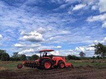 Tillage Royalty Free Stock Images