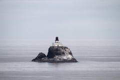 tillamook för kustfyroregon rock Arkivbilder