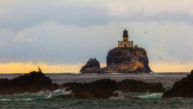 Tillamook Lighthouse, Oregon Coast Royalty Free Stock Photo