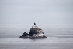 Tillamook Rock Lighthouse at Oregon Coast Stock Images