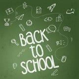 tillbaka affischskola till Royaltyfri Fotografi