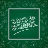 tillbaka bakgrundsskola till royaltyfri illustrationer