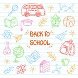 tillbaka bakgrundsskola till Arkivbild