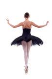 tillbaka ballerina royaltyfria foton