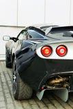tillbaka bilsport Arkivfoto