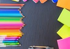 tillbaka blyertspennaskola till Arkivfoto