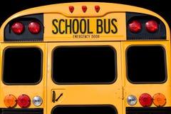 tillbaka buss Arkivbild