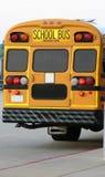 tillbaka buss Arkivfoton